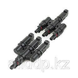 Коннектор тройной Four-way МС4 пара