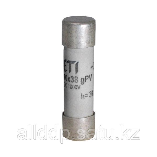 Цилиндрический предохранитель ETI CH10x38 gPV 1A/1000V DС