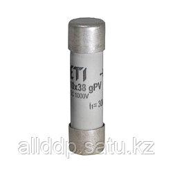Цилиндрический предохранитель ETI CH10x38 gPV 2A/1000V DC UL