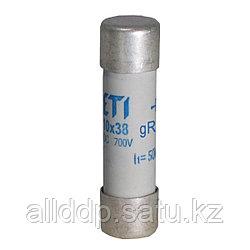 Цилиндрический предохранитель ETI CH10x38 gR 2A/700V AC/DС