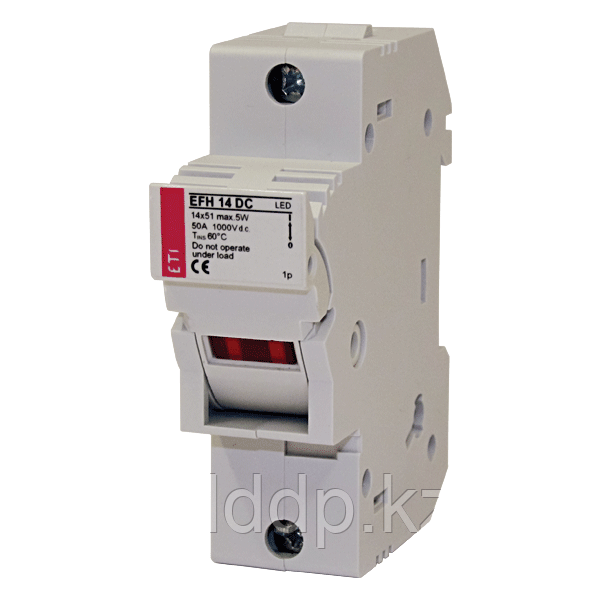 Разъединитель  для  предохранителей ETI EFH 14 DC 2p LED