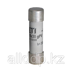 Цилиндрический предохранитель ETI CH10x38 gPV 6A/1000V DC UL