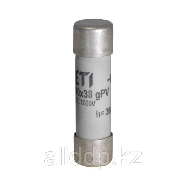 Цилиндрический предохранитель ETI CH10x38 gPV 25A/1000V DС