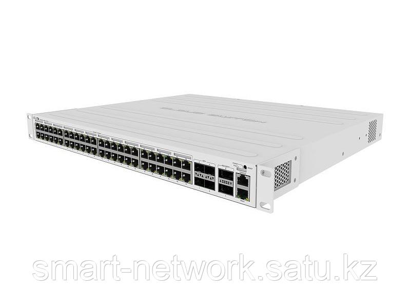 Коммутатор MikroTik CRS354-48P-4S+2Q+RM 48 портов RJS