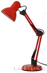 Светильник лампа настольный на струбцине (красный)