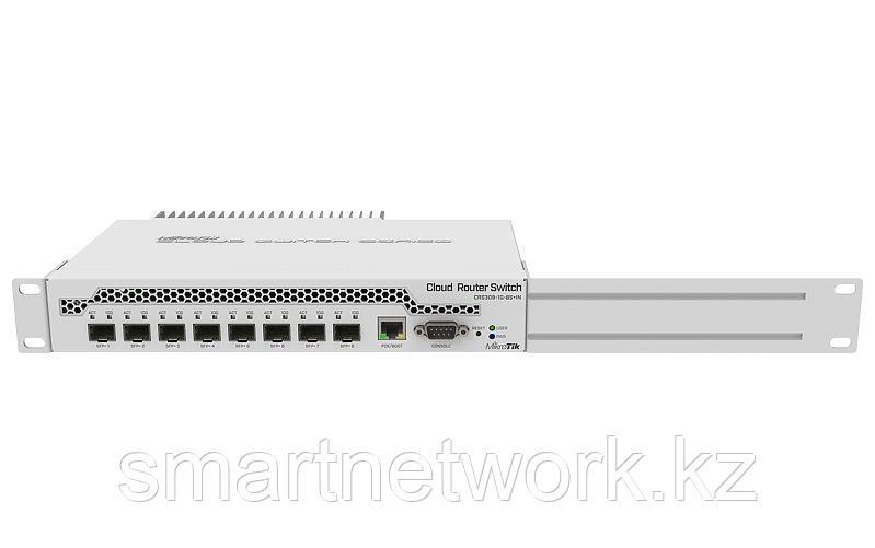 Коммутатор Cloud Router Switch Mikrotik CRS309-1G-8S+IN, 1x10/100/1000Мбит/с RJ45, 8xSFP+, RAM