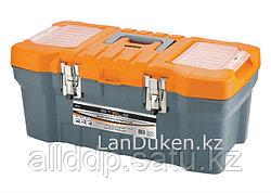 """Ящик для инструмента с металлическими замками 16"""" 17,5х21х41 STELS 90711 (002)"""