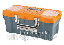 """Ящик для инструмента с металлическими замками 22"""" 28х23,5х56 STELS 90713 (002)"""