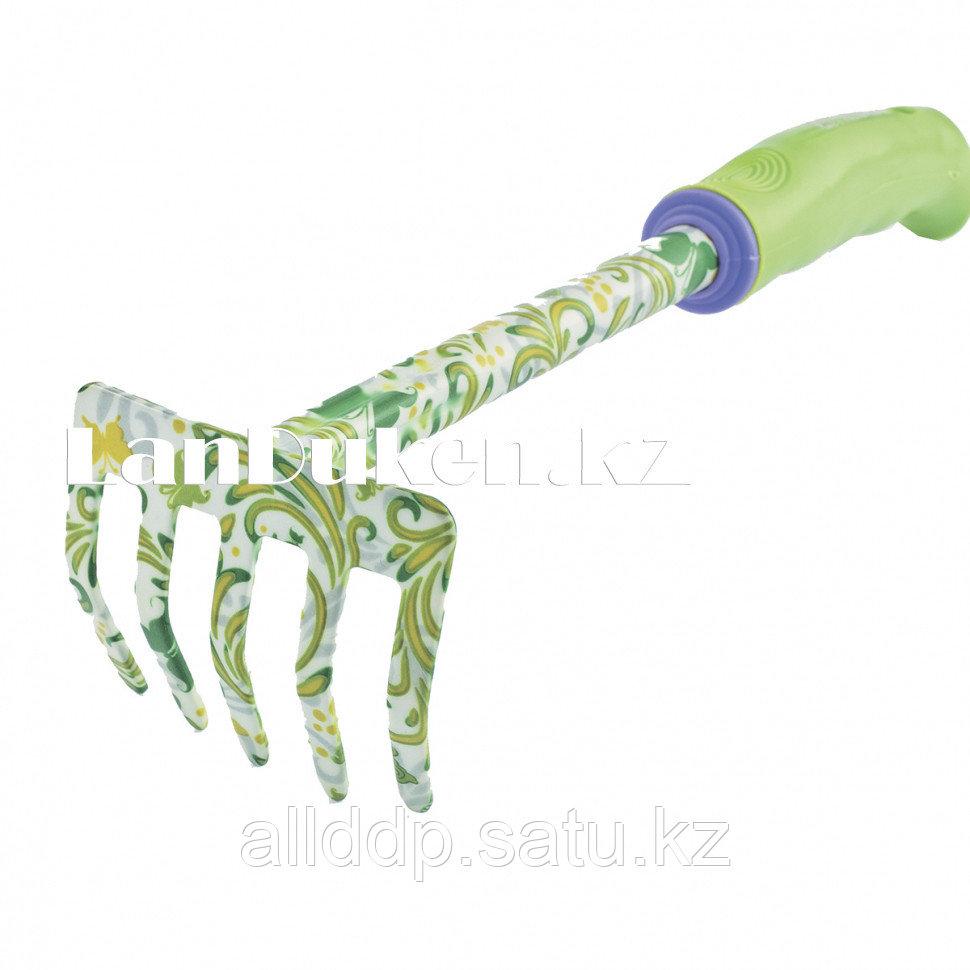 Компактные 5-зубые грабли с пластиковой ручкой PALISAD 62039 (002)