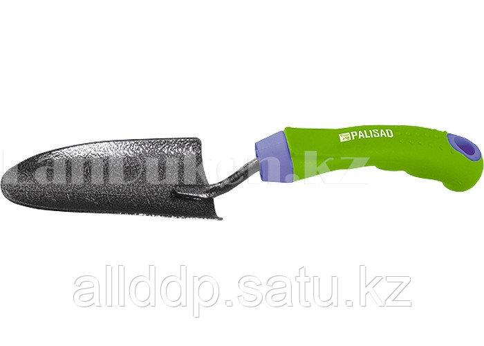 Совок для посадки с защитным покрытием и прорезиненной ручкой PALISAD 62647 (002)