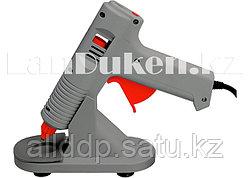 Клеевой пистолет с регулировкой температуры и подставкой 100W - 220V MATRIX 930105 (002)