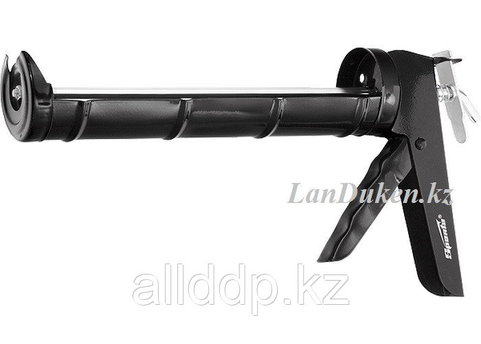 """Пистолет для герметика 310 мл """"полуоткрытый"""" круглый шток 7 мм утолщенные стенки SPARTA 886365 (002)"""