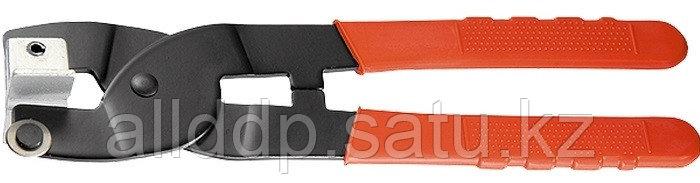 Кусачки-плиткорезы 200 мм, твердосплавные прямые губки с полимерным покрытием Sparta 87830 (002)