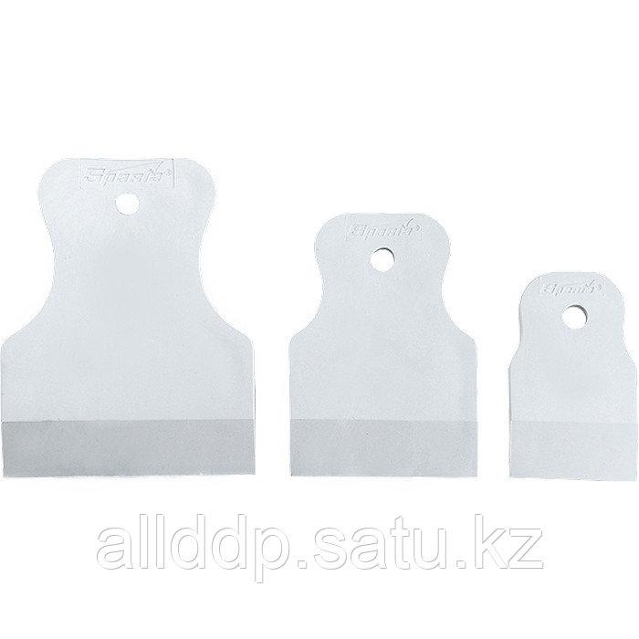 Набор шпателей 40-60-80 мм белая резина 3 шт. 858275 (002)