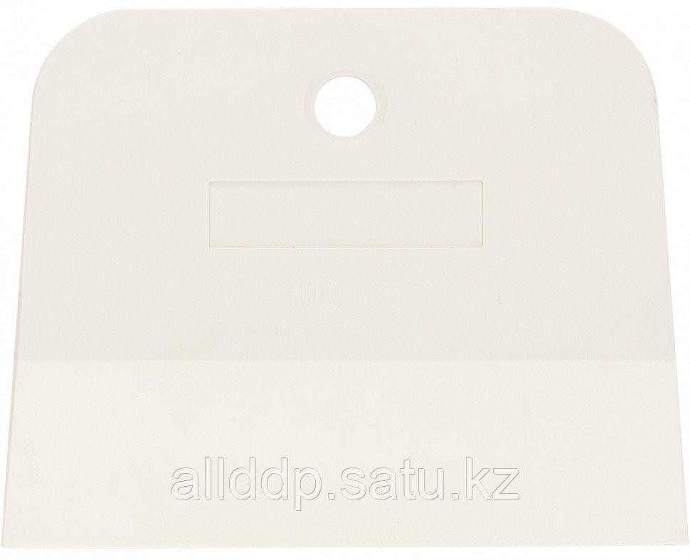 Шпатель белая резина 100 мм Сибртех 85834 (002)