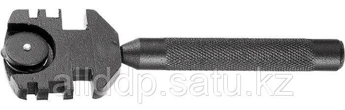 Стеклорез 3-роликовый антикорроз. покрытие головки металлическая рукоятка Профи  87219 (002)