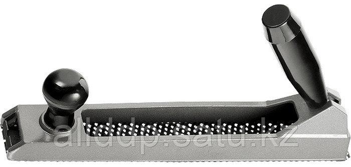 Рубанок 250х42 мм обдирочный металлический для гипсокартона переставная ручка Matrix 879165 (002)