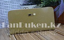 Женский кошелек-клатч Gucci в оттенке хаки