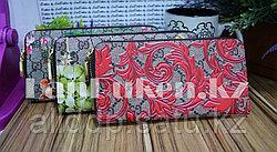 Женский кошелек-клатч Gucci с цветочным принтом в ассортименте