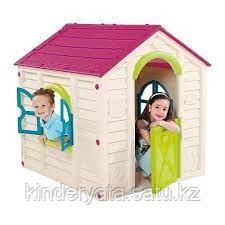 Игровой домик Keter Ранчо розовый