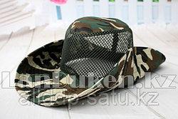 Шляпа для рыбалки, охоты (зеленая) (уценка)