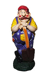 """Статуэтка """"Мужчина с лопатой"""", 67 см"""