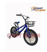 Детский велосипед Forever (с корзиной) на 4-6 лет