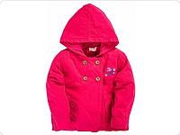 Куртка для девочки красный