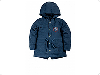 Куртка для девочки синий