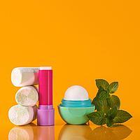EOS, Супермягкий бальзам для губ, зефир и тройная мята, 2 упаковки, 11 г