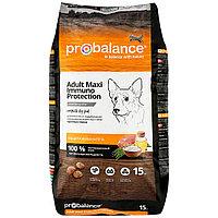 Пробаланс Сухой корм для собак, Защита иммунитета, с курицей, 15 кг