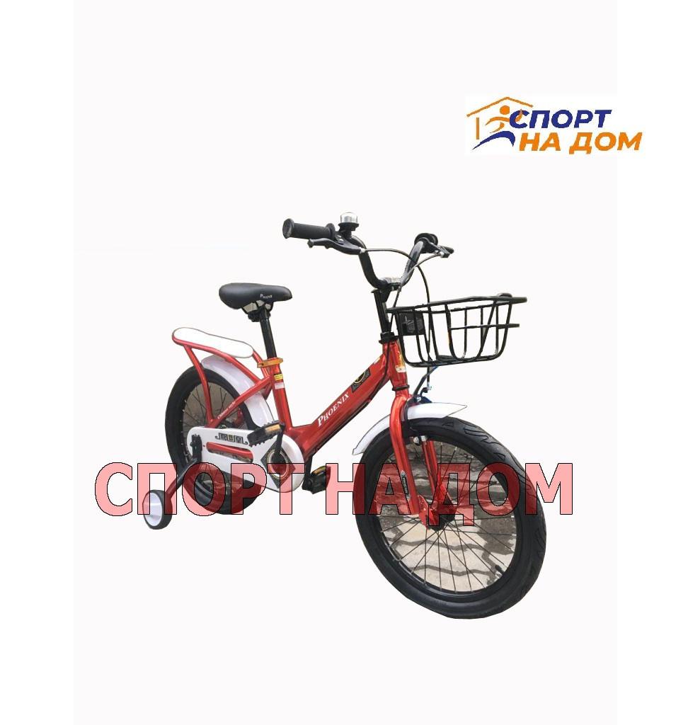 Детский велосипед Forever с корзиной (на 4-7 лет)