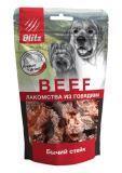 BLITZ 55г «БЫЧИЙ СТЕЙК» сублимированное лакомство для собак