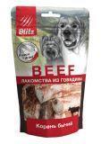 BLITZ 65г «БЫЧИЙ КОРЕНЬ» сублимированное лакомство для собак
