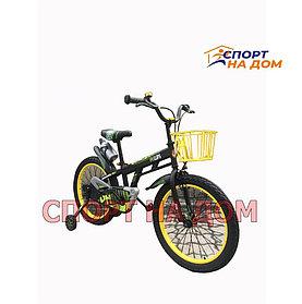 Велосипед детский Phillips с корзиной (на 6-10 лет)
