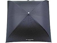 Зонт-трость Jean-Louis Scherrer Silver Square, полуавтомат, черный