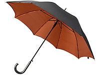Зонт-трость полуавтоматический двухслойный