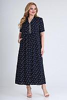 Женское летнее из вискозы большого размера платье Jurimex 2468-2 52р.