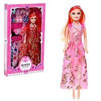 Кукла-модель «Арина» с набором платьев, обувью и аксессуарами