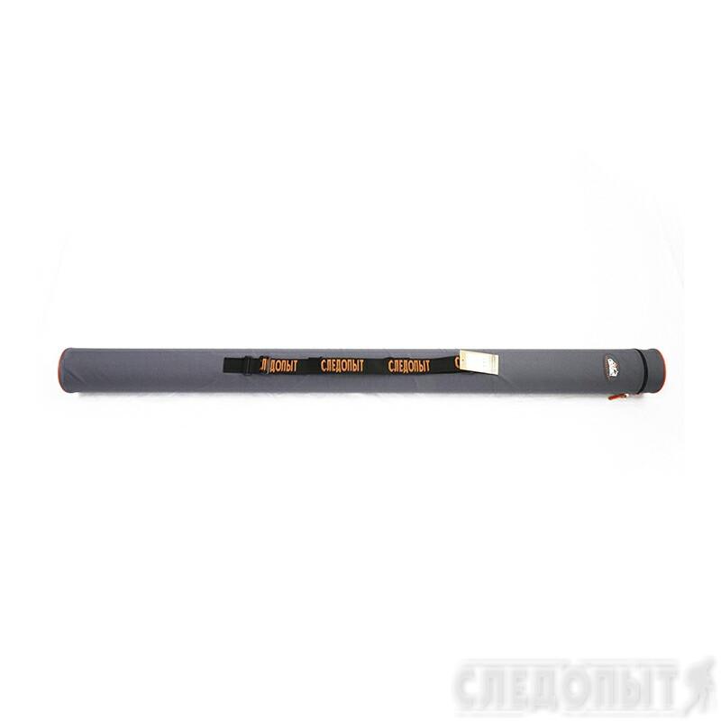 """Тубус для удилищ """"СЛЕДОПЫТ"""" d-110 мм, L-145 см, цв. серый"""