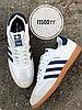 Кеды Adidas Samba бел син кор под 2062-6