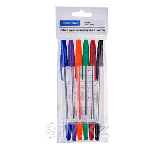 Шариковая ручка 6 цветов