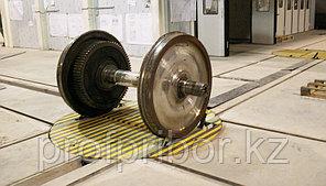 Подъёмно-поворотное устройство колесных пар электромеханическое