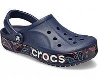 Сабо крокс Crocs Bayaband print clog