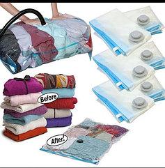 Вакуумные пакеты для хранения 80х110 см. Переезд Мешок. Kaspi red. Рассрочка