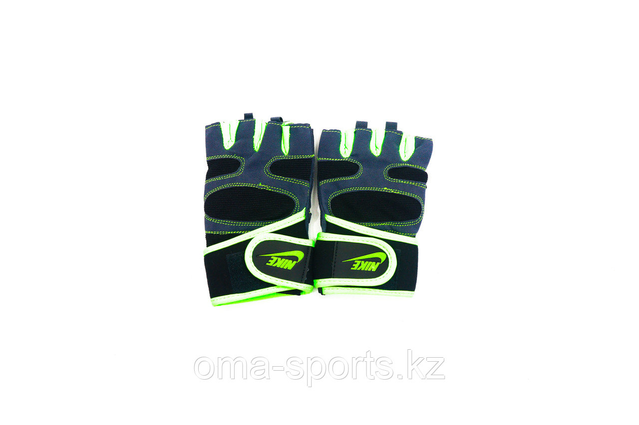 Фитнес перчатки без пальцев
