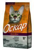 Оскар 10 кг Индейка сухой корм для взрослых кошек