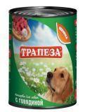 Трапеза 350гр Говядина Консервы для собак
