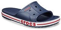 Сабо крокс Crocs Bayaband slide шлепанцы (слайды) темно-синие