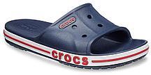Сабо крокс CrocsBayaband slide шлепанцы (слайды) темно-синие